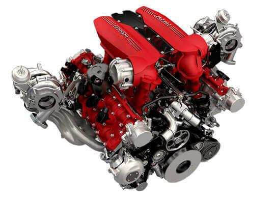 488 Spider - изображение model-enjine на Ferrarimoscow.ru!