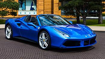 Главная - изображение 488-Spider-Blu-corsa_превью на Ferrarimoscow.ru!