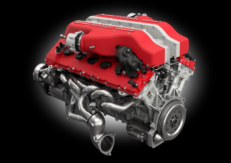 GTC 4 Lusso - изображение motore_ferrari_F151M_2016 на Ferrarimoscow.ru!