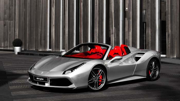 488 Spider // Rosso Corsa - изображение AR1X0035_700х394 на Ferrarimoscow.ru!