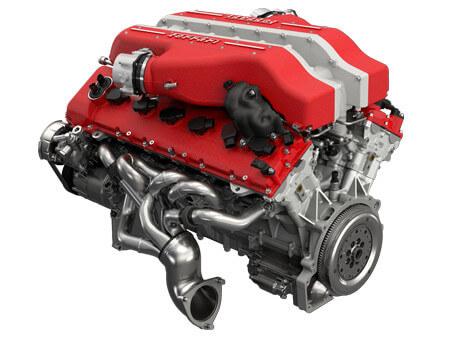 812 Superfast - изображение V-12 на Ferrarimoscow.ru!