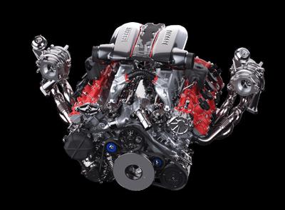 F8 SPIDER - изображение двигатель-1 на Ferrarimoscow.ru!