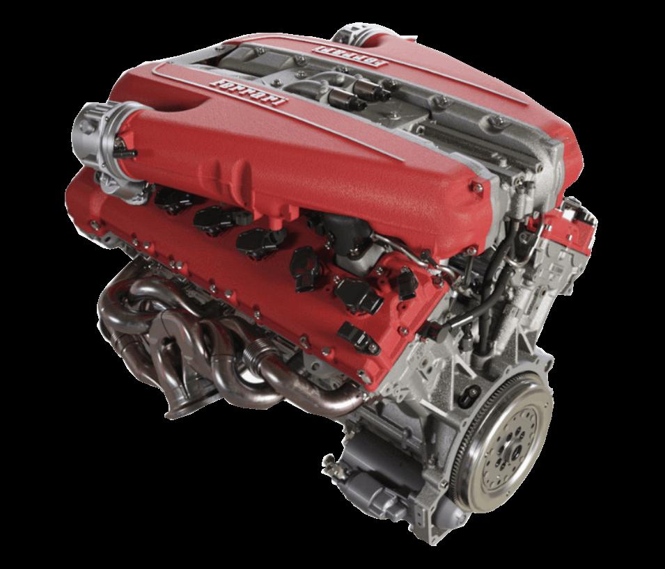 812 GTS - изображение двигатель на Ferrarimoscow.ru!