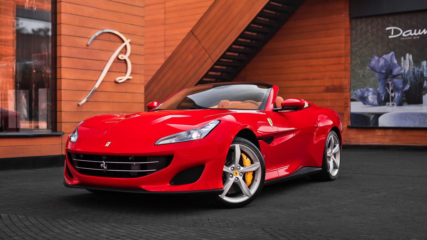 PORTOFINO // BLU CORSA METALLIC - изображение 1 на Ferrarimoscow.ru!
